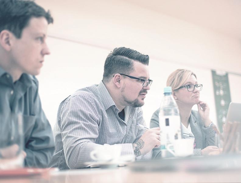 Usability-Schulung am 1.9.2017 bei der GFU Cyrus AG Köln