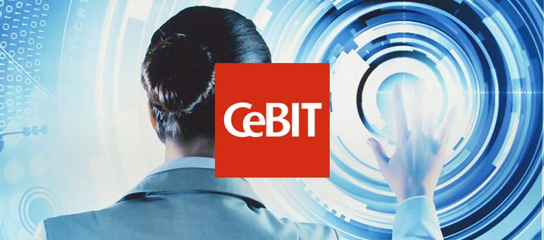 """Simply usable"" auf der Cebit 2015"